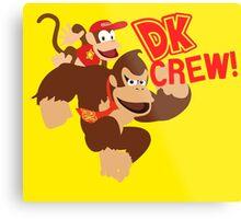Donkey Kong (DK) Crew! Metal Print