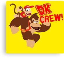 Donkey Kong (DK) Crew! Canvas Print