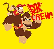Donkey Kong (DK) Crew! Photographic Print