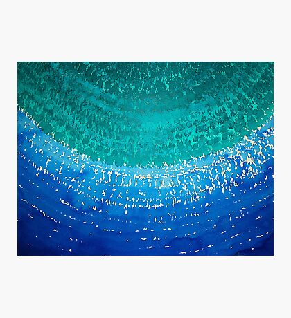 Ride the Wave original painting Photographic Print