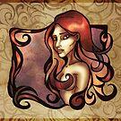 Rose Red Curls by AlexKujawa