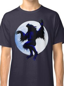 Werewolf and Moon Classic T-Shirt