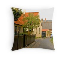 A COZY TOWN CALLED DRAGØR Throw Pillow