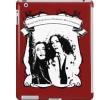 Destined To Meet At Gunpoint iPad Case/Skin