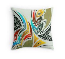 Intimations of Shells Throw Pillow