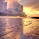Storm Clouds at Sunset by Jonicool