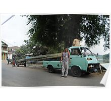 Car The carrier Bamboo Poster