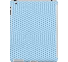 Blue Isometric! iPad Case/Skin