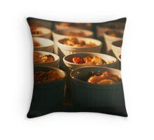 food lit Throw Pillow
