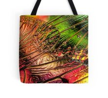 Fall of the Crystal Leaves Tote Bag