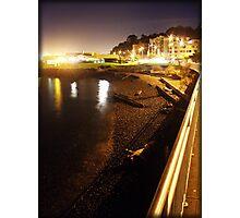 Alki at Night Photographic Print