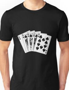 ROYAL FLUSH Unisex T-Shirt