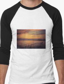 Moody Sunset Men's Baseball ¾ T-Shirt