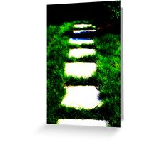 Walkway to Nowhere Greeting Card