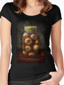 Fantasy - Creepy - I've always had eyes for you Women's Fitted Scoop T-Shirt
