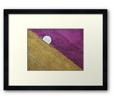 Supermoon original painting Framed Print