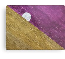 Supermoon original painting Metal Print