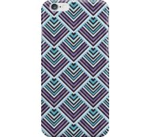 Purple & Blue Geo Tile iPhone Case/Skin