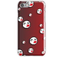 8bit Boo Iphone Case - Gradient Red iPhone Case/Skin