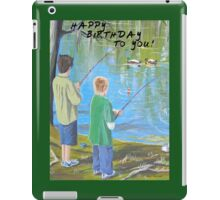 HAPPY BIRTHDAY TO YOU! iPad Case/Skin