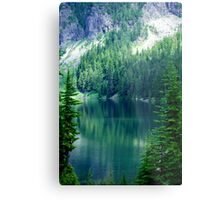 Pristine Alpine Lake Metal Print