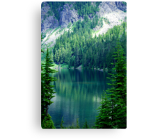 Pristine Alpine Lake Canvas Print