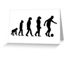 EVOLUTION SOCCER Greeting Card