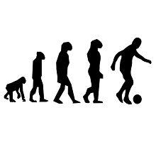 EVOLUTION SOCCER Photographic Print