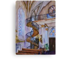 Loretto Chapel Staircase - Santa Fe, NM Canvas Print
