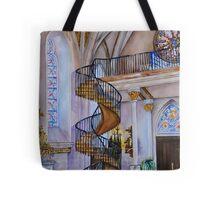 Loretto Chapel Staircase - Santa Fe, NM Tote Bag