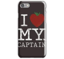 I Love My Captain iPhone Case/Skin