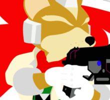 Super Smash Bros Fox Melee Sticker