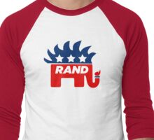 Rand Paul Libertarian Republican 2016 Men's Baseball ¾ T-Shirt