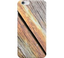 Weathered Wood Photography iPhone Case/Skin