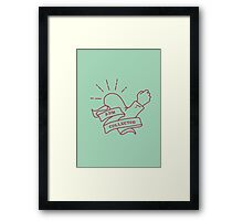 Arm Collector Framed Print
