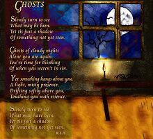 Ghosts - a Poem & an Original Painting by Rhonda Strickland