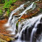 Ithaca's Buttermilk falls VII  by PJS15204