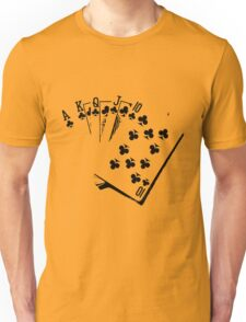 ROYAL FLUSH-2 Unisex T-Shirt
