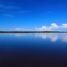 calmness over Chokoloskee Bay by kathy s gillentine