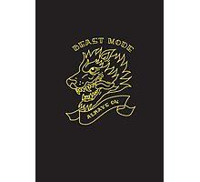 Beast Mode - Always On Photographic Print