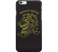 Beast Mode - Always On iPhone Case/Skin