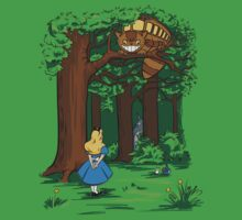 My Neighbor in Wonderland (Kelly Green) Baby Tee