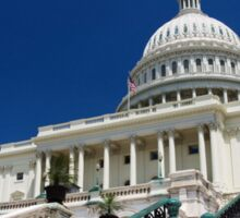 U. S. Capitol Building Sticker