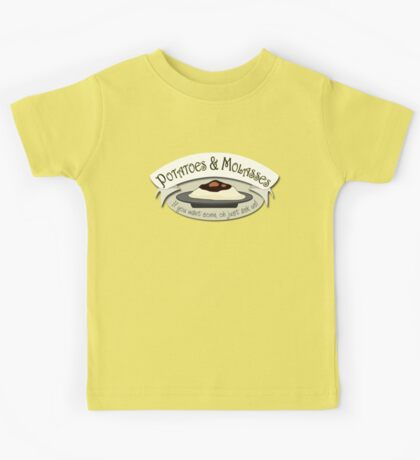 Potatoes and Molasses Kids Tee