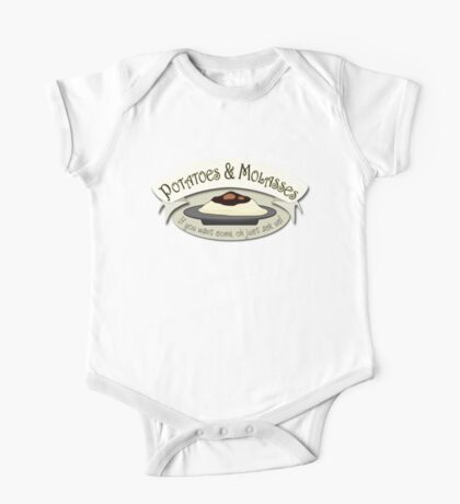 Potatoes and Molasses One Piece - Short Sleeve