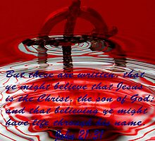 John 21:31 by R&PChristianDesign &Photography