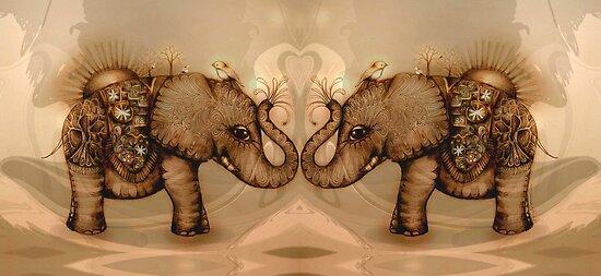 Elephant Love by © Karin Taylor