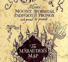 Map Harry potter castle  by MonaLisaArt