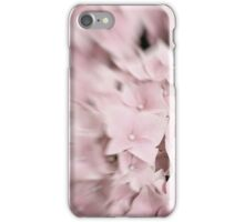 Dreamy Abstract Pale Pink Flower Photography iPhone Case/Skin