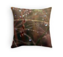 Jewelled Twigs Throw Pillow